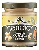 Meridian Natural Smooth Cashew Butter 170g (Pack of 4)