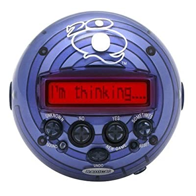 Radica 20Q Artificial Intelligence Game - Colors may vary since the item may come in 3 different colors: Toys & Games [5Bkhe2006526]