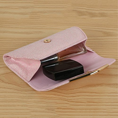 Cocktail Bling Women's Luxury Pink Deals Purse Wedding Bag Clutch Evening Party angel3292 Clearance Glitter aqg0ZBZU