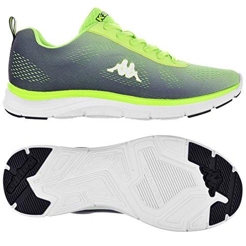 Zapatos de Deporte - Kappa4training Cambus Grey-Green Acid