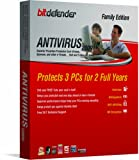 Bitdefender Antivirus 2009  - 2 Yr/3Pc [OLD VERSION]