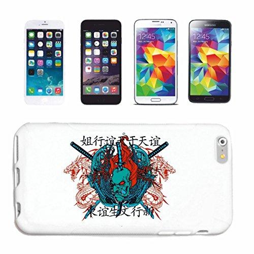 caja del teléfono iPhone 7S El guerrero de Shangai GUERRERO SAMURAI ESPADA Combatiente COMBATIENTE CHINA Caso duro de la cubierta Teléfono Cubiertas cubierta para el Apple iPhone en blanco