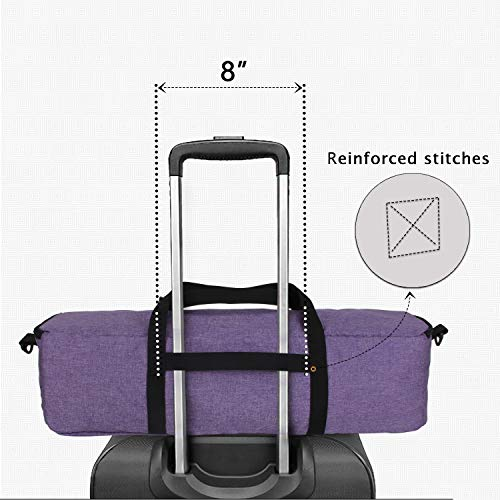 Luxja Foldable Bag Compatible with Cricut Explore Air and Maker, Carrying Bag Compatible with Cricut Explore Air and Supplies (Bag Only), Purple by LUXJA (Image #4)