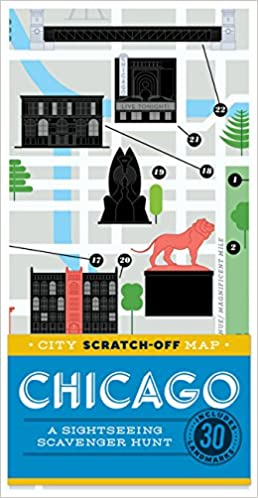 City Scratch-Off Map: Chicago: A Sightseeing Scavenger Hunt ... on chicago shops map, navy pier chicago map, chicago walking tour map, magnificent mile map, chicago area attraction map, chicago visitors map, chicago food map, chicago travel map, chicago casinos map, downtown chicago map, chicago loop map, chicago restaurants map, chicago cultural map, chicago things to do map, chicago hop on hop off tour map, chicago city map, chicago tourist attractions, chicago shoreline map, chicago shopping map, chicago biking map,