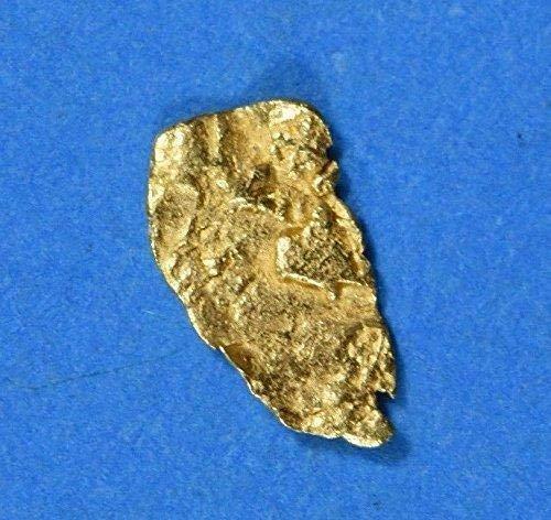 Alaskan-Yukon BC Gold Rush Natural Gold Nugget 0.19 Grams Genuine (Natural Gold Nugget)