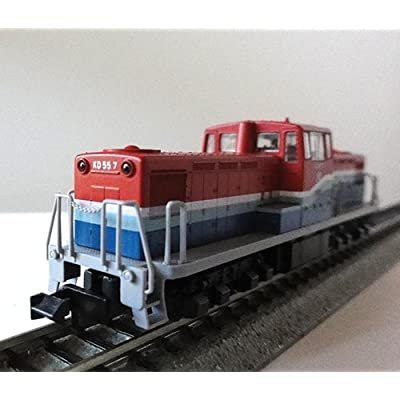 KATO 10-369 Keiyo Rinkai Railway Diesel Locomotive Type KD55 2-Car Set (N Scale): Toys & Games