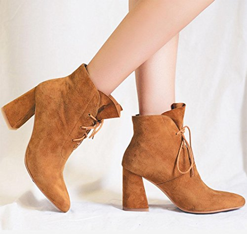 KUKI las de y solo US6 zapatos botas de de Martin oto zapatos alto botas tac¨®n los las mujeres mujeres las el CN36 mujeres EU36 o de invierno baratas botas de UK4 rqErwgT