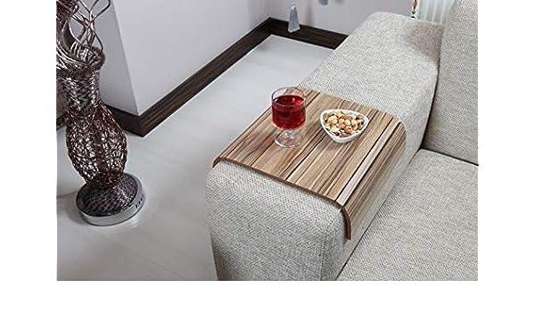 Astonishing Amazon Com Sofa Tray Table Sofa Arm Table Middle Flat Evergreenethics Interior Chair Design Evergreenethicsorg