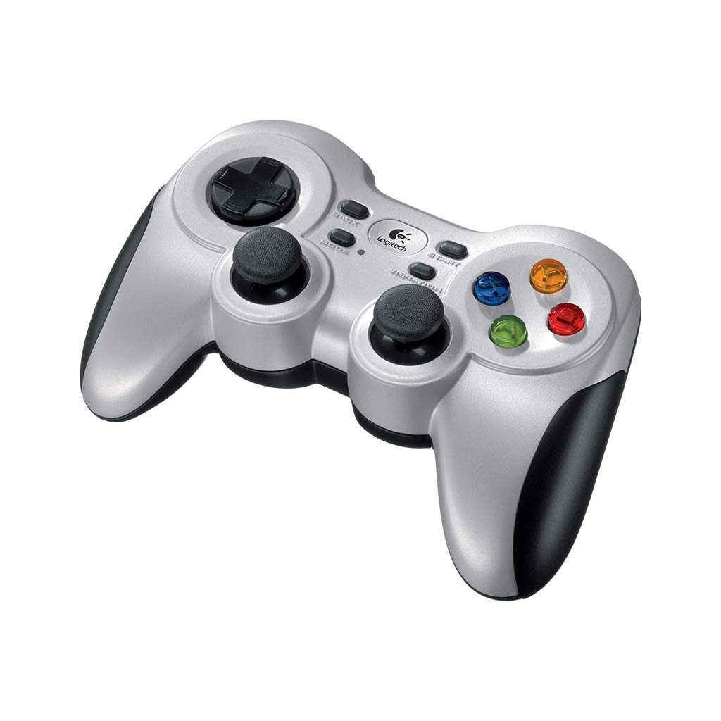 Logitech F710 Wireless Gamepad (Silver and Black) product image