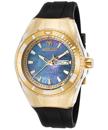 technomarine-womens-cruise-quartz-stainless-steel-and-silicone-casual-watch-colorblack-model-tm-1153
