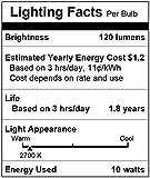 Simba Lighting Halogen G4 T3 10 Watt 120lm Bi-Pin