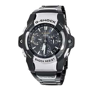 Casio Men's GS1000D-1 G-Shock GIEZ Series Black Metal Band Chronograph Watch