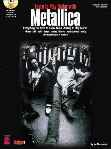 Learn to Play Guitar with Metallica - BK + CD