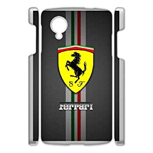Ferrari Logo theme pattern design For Google Nexus 5 Phone Case