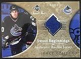 2006-07 Upper Deck Sweet Shot #158 Jesse Schultz RC Rookie 336/499 06814