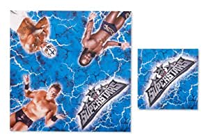 WWE Lunch Napkins (16 count) Party Accessory