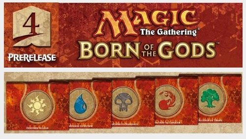 Born of the Gods Pre-release Pack-all Five Colors B00I1M05L8