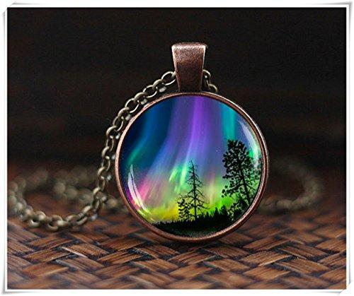 Aurora Glass Pendant - 8