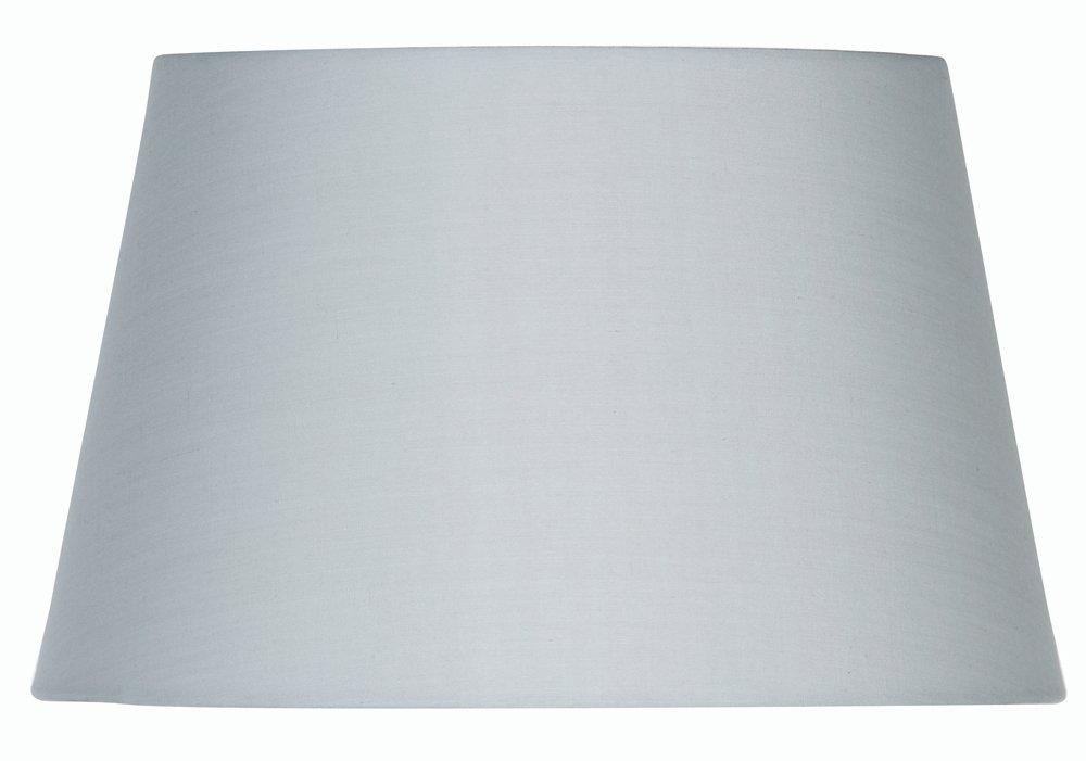 Oaks Lighting Abat-jour tambour en coton Gris clair 20 cm S901/8 SG
