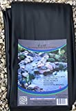 Pond Liner - 6' x 10' Black for Koi Ponds and Water Gardens