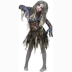 Zombie Girls Halloween Costume, Large (12-14)