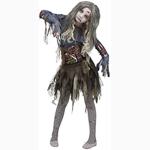 Zombie Girls Halloween Costume Large