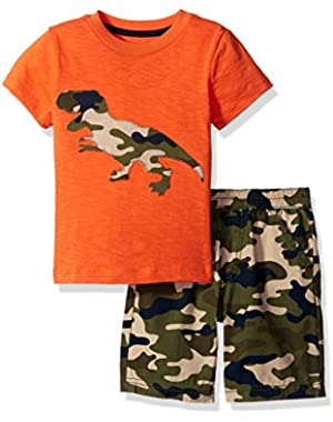 Boys' Tee and Short Set