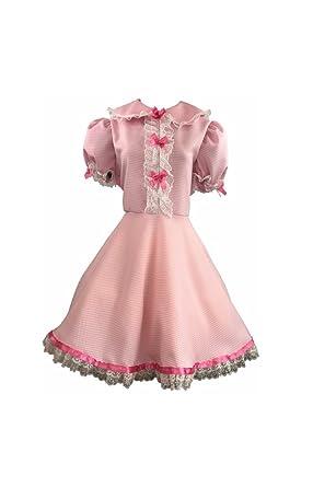 43d5c7a63413 Amazon.com: Sissy Dames Pink Unisex Sissy Maid Dress for Men & Women ...