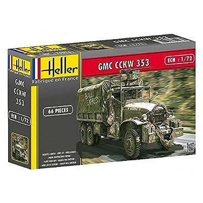 Heller - 79996 - Construction Et Maquettes - Gmc Cckw 353 - Echelle 1/72ème