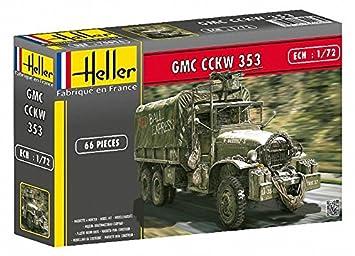 Heller - 79996 - Maqueta para Construir - GMC CCKW 353 - 1 ...