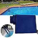 Swimming Pool Hand Rail Cover Royal Blue Handrail