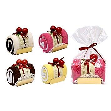 Lote 20 Toallas Dulce Tronco Pastel Detalle de Boda en Bolsita de Regalo -Detalles, regalos y recuerdos para Bodas Originales, Prácticos, Exclusivos.