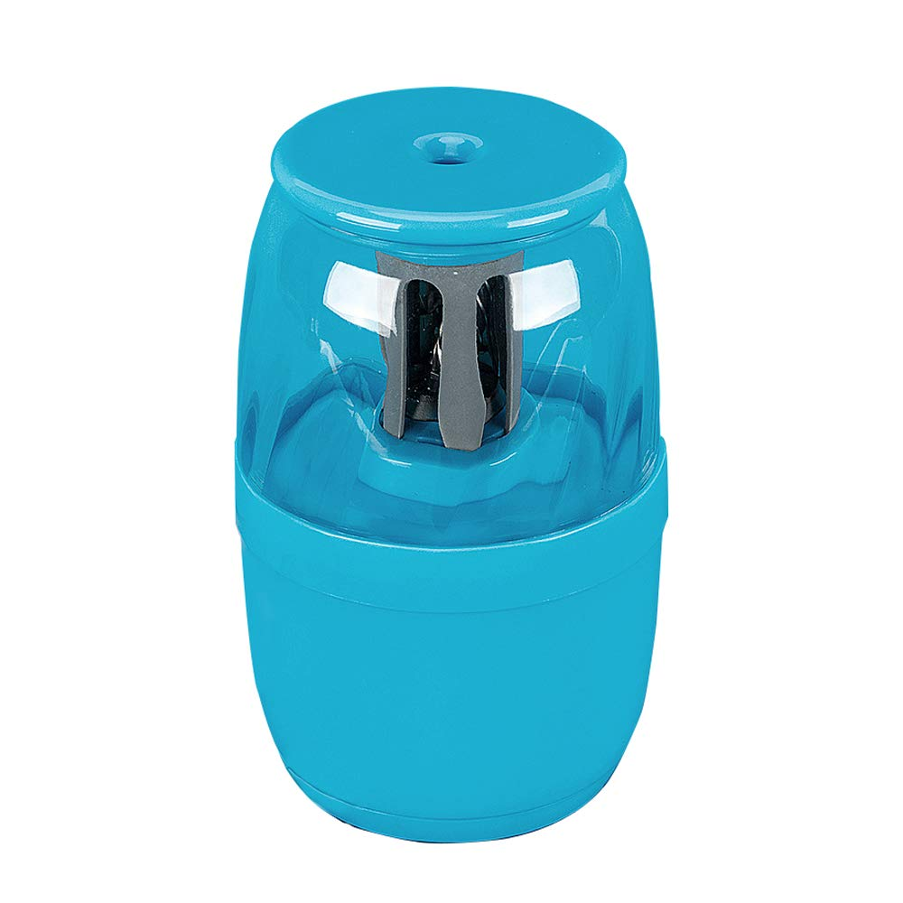 Electric Pencil Sharpener, USB, Large Capacity, Noise Reduction Student Pencil Sharpener, Safety Protection,Replaceable Knife Holder, Perfect Gift,Blue