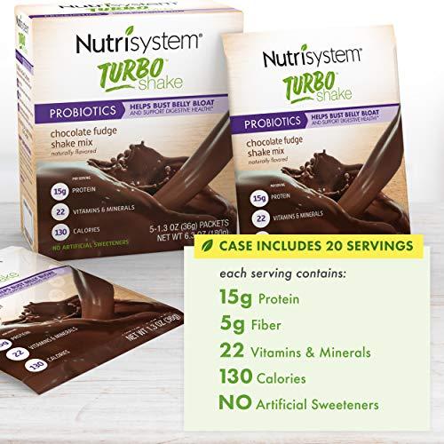 Nutrisystem® Turbo Chocolate Fudge Shake Mix, 20 ct by Nutrisystem (Image #2)