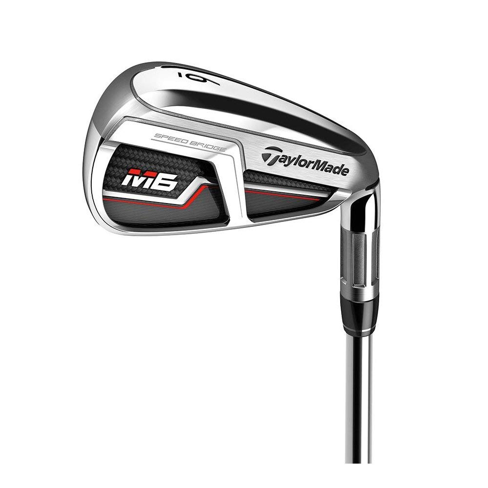 TaylorMade Golf M6アイアン7本セット (男性用、右利き、シャフト: KBS Max 85、フレックス: S、セット内容: 5I,6I,7I,8I,9I,PW,AW) N6875009 141[並行輸入]