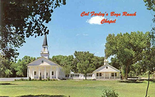 cal-farleys-boys-ranch-chapel-amarillo-texas-original-vintage-postcard