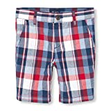 The Children's Place Boys' Big Chino Shorts, CAPTAINNVY 02049, 5
