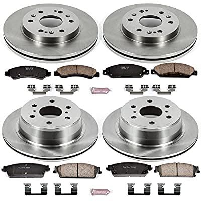 Autospecialty KOE2068 1-Click OE Replacement Brake Kit: Automotive