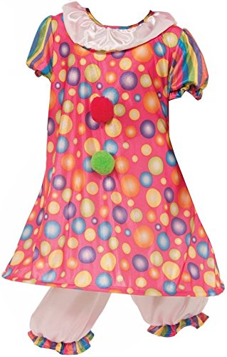 Plus Clown Costumes Top Big (Forum Novelties Little Tickles The Clown Costume, Child)