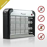 Aspectek Upgraded 20W Electronic Bug Zapper Insect Mosquito, Fly, Moth, Wasp Beetle & Other pests Killer for Indoor Residential & Commercial, White