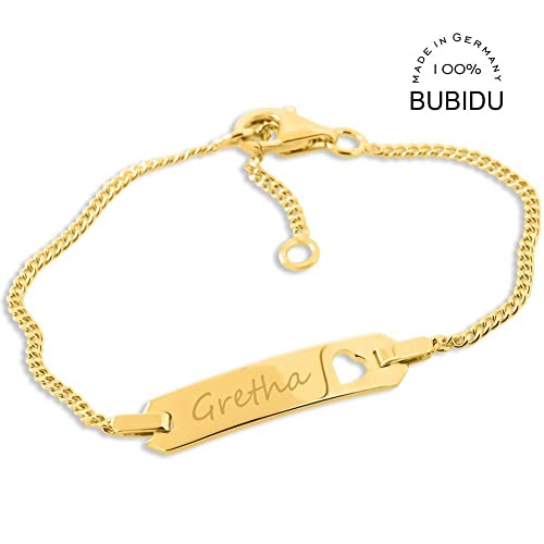Baby Id Armband Gold Zur Taufe Geburt Taufarmband Mit