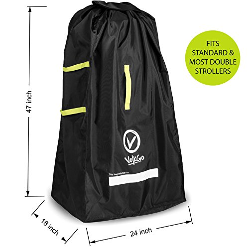 VolkGo for Airplane - Standard or Double/Dual Stroller Check