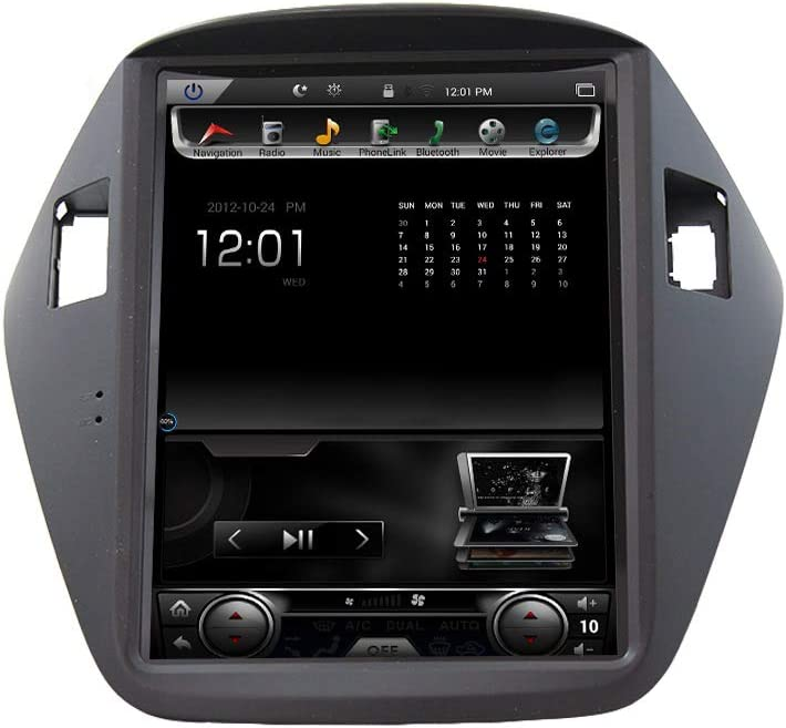 AUTORADIO CUSTOM FIT JF SOUND ANDROID HYUNDAI IX35 EASY CONNECT GPS BLUETOOTH