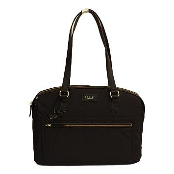 d32896c508e63 RADLEY 'Spring Park' Black Nylon Shoulder/Work Bag Bag - RRP £109 ...