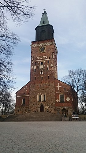 Home Comforts Peel-n-Stick Poster of Spring Finland Architecture Landmark Old Cathedral Poster 24x16 Adhesive Sticker Poster Print