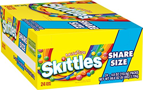 Skittles Brightside Candy, 4 Ounce (Pack of 24) by Skittles