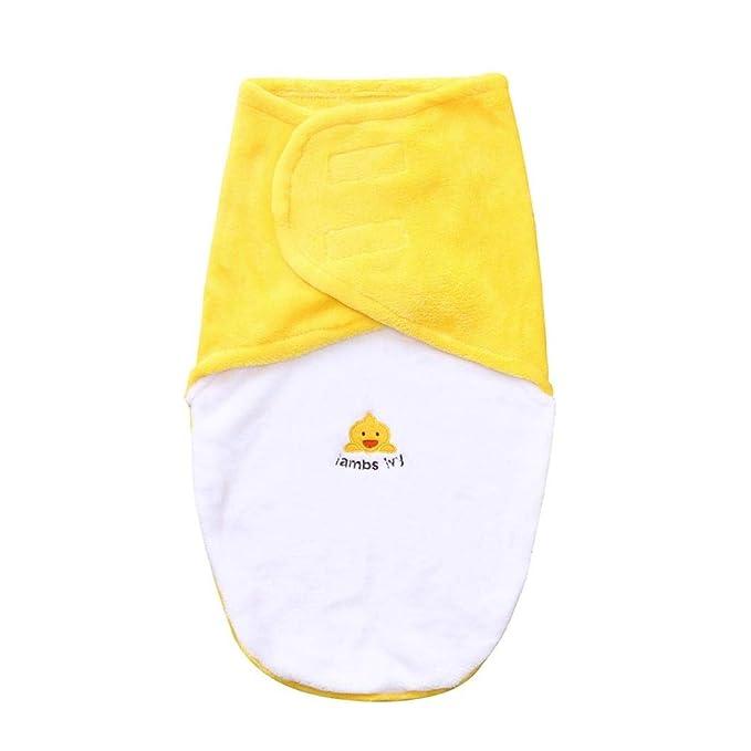 QinMM Sacos de Dormir para bebés niño, Mantas para bebés, Amarillo, un tamaño: Amazon.es: Ropa y accesorios