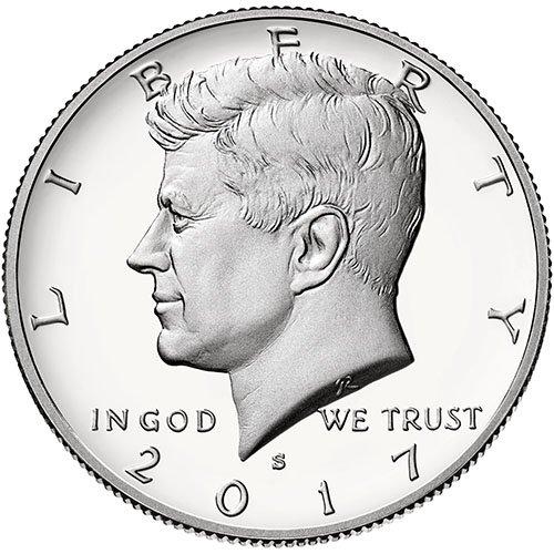2017 S Clad Proof Kennedy Half Dollar Choice Uncirculated US Mint