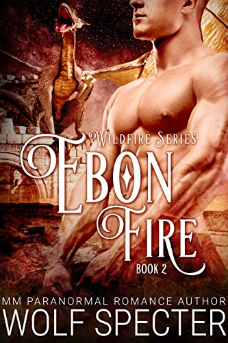 Ebon Fire (M/M Gay Shifter Mpreg Romance) (Wildfire Series Book 2)
