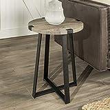 Cheap WE Furniture AZF18MWSTGW Side Table, Grey Wash